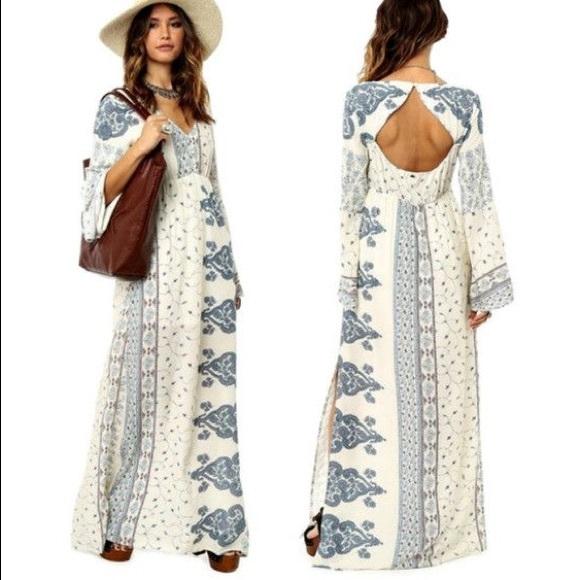 ac960aa911 O'Neill Kansas Bohemian Maxi Dress. M_5a96b271c9fcdf740e30a097